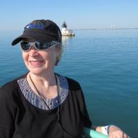 Kristina and Detroit Lighthouse