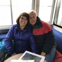 Lorena and Don on Cruise