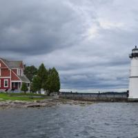 Rock Island Lighthouse was opened for all to climb and included a gift shop and museum.