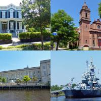 "Our free day in Wilmington gave everyone a chance to tour the city sight including the Basilica Shrine of St Mary, Bellamy Mansion,  Battleship North Carolina and the Federal Courthouse which was used many times in the television series ""Matlock"" starring Andy Griffith"