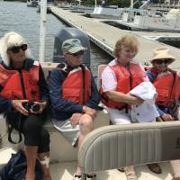 Cedar Key Boat Ride