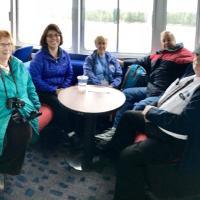 Nancy, Lorena, Nancy, Don and Coach Drive John