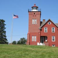 Two Harbors Lighthouse is a Bed and Breakfast.
