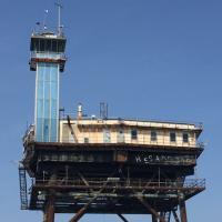 One side of Chesapeake Lighthouse