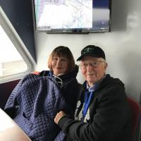 Sandra and John on Cruise