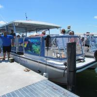 Anclote Key Lightouse Boat