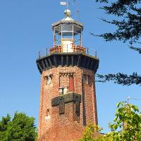 Hoylake Upper lighthouse, now a private residence.