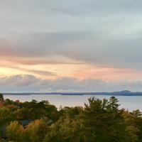 View from Blue Nose Inn at Bar Harbor