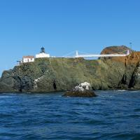 Our first look at Point Bonita.  Later in the tour we will be crossing that suspension bridge.