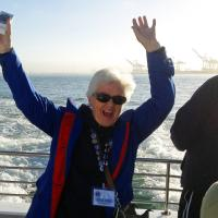 Dianne is very excited that she will finally get to see the Farallon Islands!