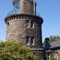 No lighthouse is further from the water than the Bidston Lighthouse.