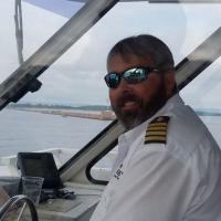 Captain John guides us into Lake Superior from Duluth Harbor.