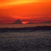 Sunset at Ensenada Resort