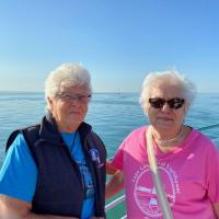 Janice and Dorothy on Detroit River Cruise