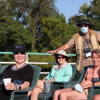 Kristina, Judith, Ron and Diane on Detroit River Cruise
