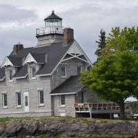 Sister Islands is often referred to as Three Sister's Island due to the three tiny islands on which the lighthouse sits