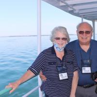 Leona and Steve on Detroit River Cruise