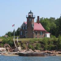 Sand Island Lighthouse in the Apostle Islands.