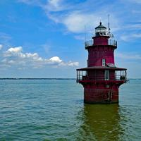 Newport News Middle Ground Lighthouse