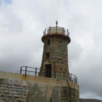 Fish Hoek harbor Lighthouse remains