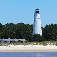 This was the second Georgetown Lighthouse built in 1811 making it the oldest lighthouse in South Carolina