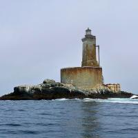 St. George Reef, the most expensive lighthouse ever built in the U.S.
