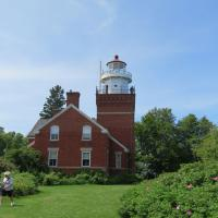 Big Bay Lighthouse is operated as a B & B.  Linda and Jeff Gamble currently own the lighthouse and provided a wonderful experience