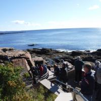 On the way to Thunder Hole in Acadia National Park