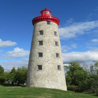 Originally a windmill, it was later converted to a lighthouse 50 years after the 1837 Battle of the Windmill.