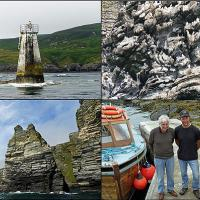 Sights from our trip out to the Calf of Man