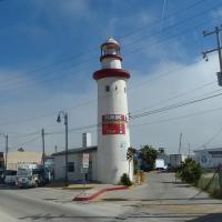 Ensenada El Faro Parking FAUX Lighthouse