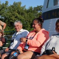 Ron, Diane, Randy, Debbie and Casey on Detroit River Cruise