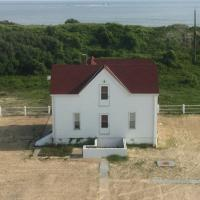 One keeper's house at New Cape Henry Lighthouse