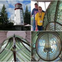This Fresnel lens is said to be 5th order; however EVERYONE agreed it is magnificent with few flaws.
