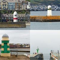 Isle of Man Pier lights - i call them R2D2 lights!