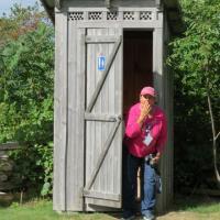 Wanda takes advantage of the facilities