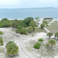 The view from the top of the Egmont Key Lighthouse