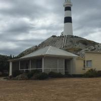 Cape Campbell Lighthouse and Keepers House