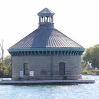 Detroit Water Works Intake Crib Ligtht