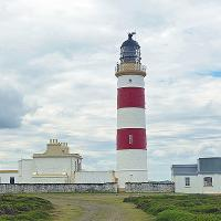 The Point of Ayre Lighthouse is the oldest operational lighthouse on the Isle of Man (1818)