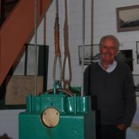 Clockworks at Akaroa Lighthouse with Greeter Ben
