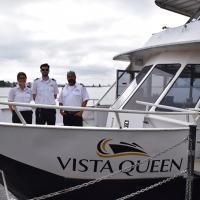 Our last voyage aboard Vista Queen in Duluth Harbor.