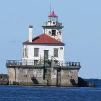 Oswego West Pierhead remains an active aid to navigation