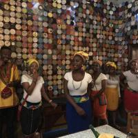 Africa Cafe  staff - welcome dinner