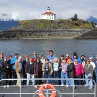 Group Photo at Eldred Rock Lighthouse