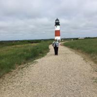Amy at Sankaty Head