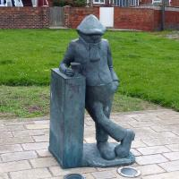 We learned that Andy Capp, the working-class figure who never actually worked, lived in Hartlepool.