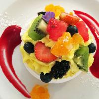 Another great dessert - Berry and Mandarin Pavlova