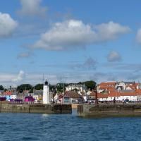 The pretty little town of Anstruther was the launching point for the boat to the Isle of May