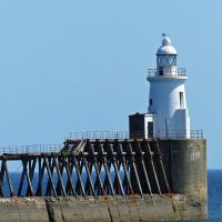 Blyth East Pier Light.